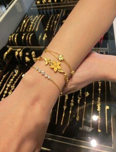 【台中銀樓】黃金買賣+回收黃金推薦 金飾和各類珠寶首飾的價錢都很划算■和一般金飾店相比,我買的黃金手鍊是訂製款無誤