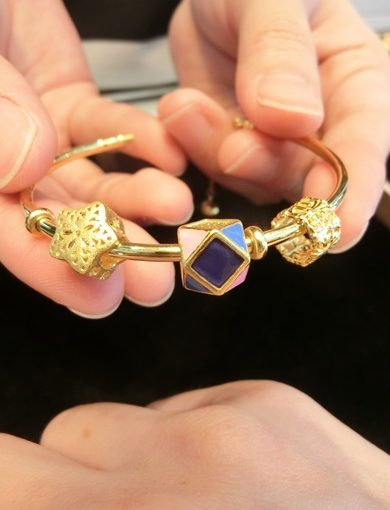 【台中金飾推薦】回收黃金.買黃金來這家金飾店最划算◆黃金版的串珠手鍊又美又保|首飾價錢CP值相當高●金飾價格都很公道喔!