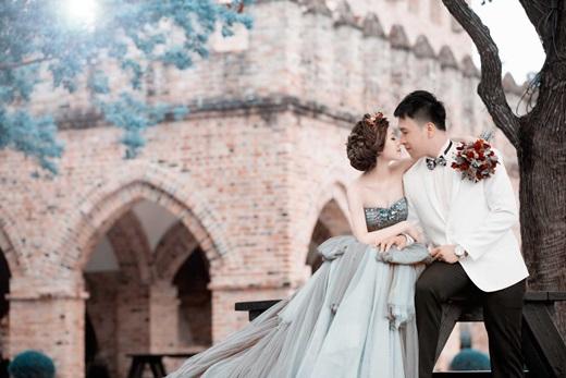 推薦☄精品婚紗在台中@婚紗精品等級的手工婚紗禮服、充滿時尚質感的彩妝,配合專業攝影功夫,完美的婚紗攝影令我終生難忘❤