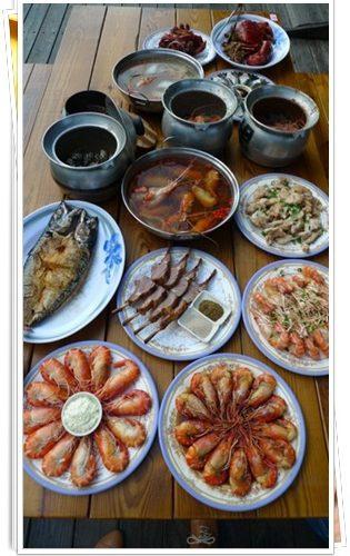 【新竹聚餐餐廳】新竹竹北宵夜海新美食熱門餐廳推薦,超棒的黃金海岸黃蝦之家~