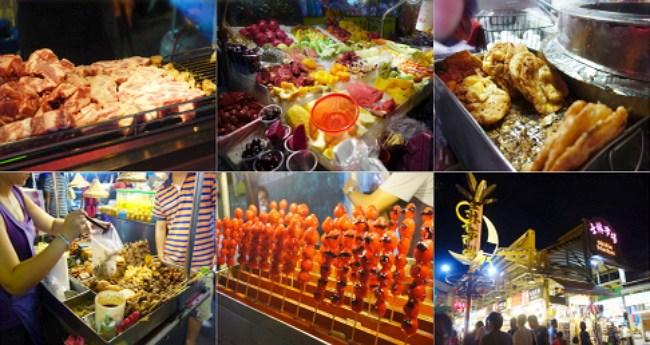 台北士林夜市營業時間、地圖、美食排名2