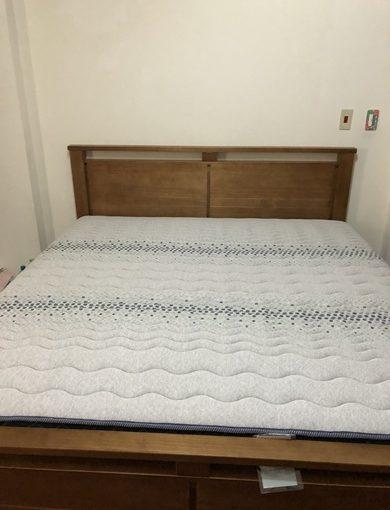 推薦【新竹床墊工廠】幫奶奶挑了一張舒適乳膠雙人床墊✽早上起床不再腰酸背痛~