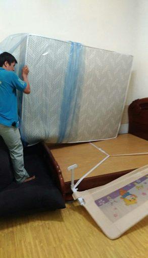 工廠直營台灣製造在地40年的超優質【台北床墊工廠】讓我們全家都一覺好眠~~~想買乳膠床墊的人也非常推薦呦!