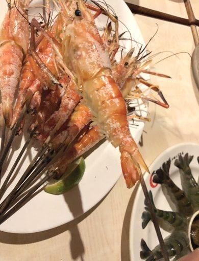 尾牙、聚餐推薦~沒吃過這家海鮮餐廳不能說自己是新竹美食家!活蝦超新鮮~每一道料理都是精華耶!