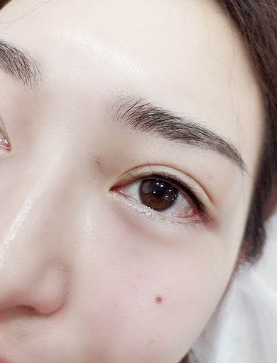 美瞳眼線+隱形眼線+紋眼線推薦*台中樂比美學概念館∥專業、服務、技術都超棒!!