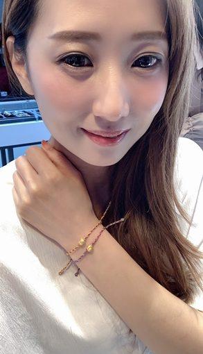 彌月金飾禮盒+台中銀樓+推薦+GIA鑽石+對戒+最有意義的蠟繩手環+送最好的祝福!