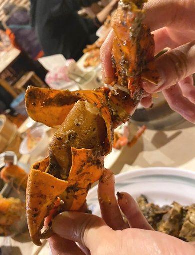 【竹北美食餐廳】絕對無法抗拒的海鮮料理˙看完讓你口水直流的新竹聚餐餐廳˙活跳跳泰國蝦˙美食心得!