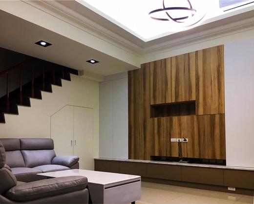 [台中裝潢設計] 系統廚具讓收納空間增加,室內設計後空間大一倍!! 系統櫃推薦/打造溫馨家園,延續上一代的愛!