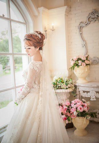 ❃台中婚紗推薦❃(羞)在台中與一間美麗的婚紗公司有一場夢幻的邂逅,不用到國外在台灣就可以穿到這麼夢幻的婚紗,每一項服務都替我的完美婚禮錦上添花~