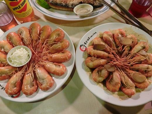 【新竹聚餐】系辦工讀生聚會,吃到超棒的新竹美食餐廳~感謝主任推薦這間好吃的活蝦餐廳~以後宵夜聚會就有竹北現撈鮮蝦可以吃啦!!