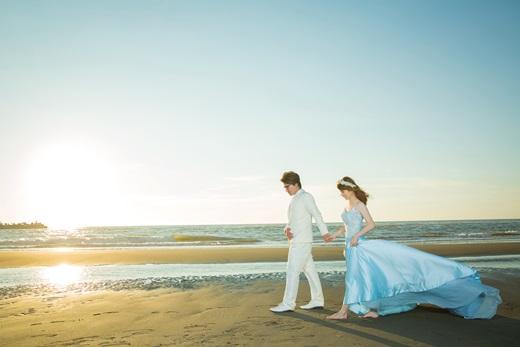 【婚紗】推薦我的手工婚紗有質感又美美,果然是台南評價超好的婚紗店,費用也相當滿意~太幸運了!