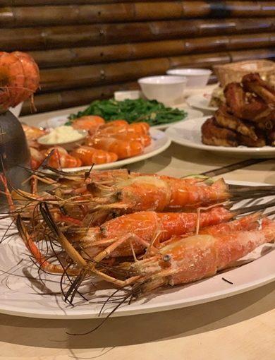 新竹聚餐餐廳推薦◆知名聚餐美食分享#蝦子好大隻,口味也好多!新竹吃海鮮料理推薦