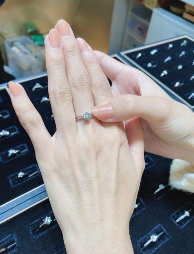 【台中婚戒】鑽石戒指,GIA認證,愛的承諾,結婚周年紀念日,台中金飾店推薦!