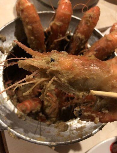 【新竹餐廳】比在海邊吃還過癮!鮮甜+美味,熱搜上榜的活蝦海鮮餐廳~竹北第一!