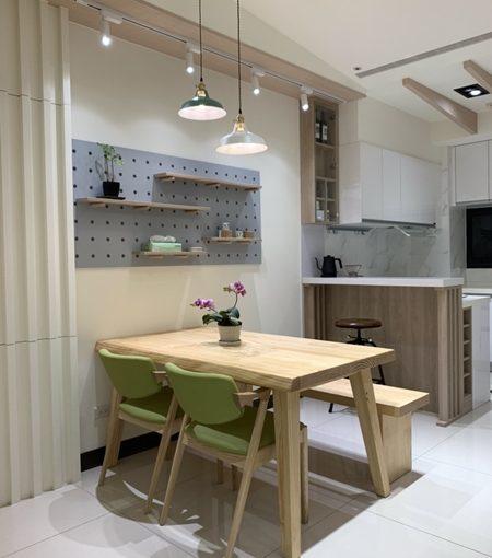 {系統櫃推薦} 為房屋深度設計!簡約廚具打造室內北歐風格,台中CP值最高的裝潢!